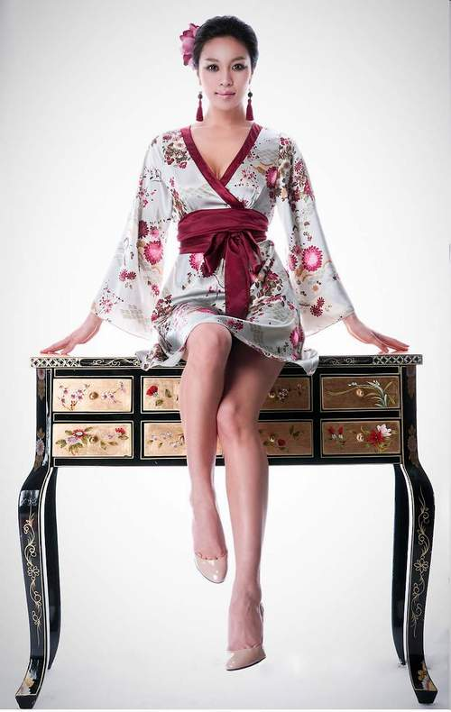 kimono cach dieu