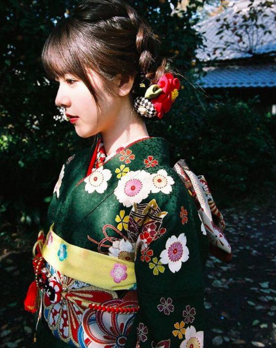 cách may kimono nhật bản truyền thống