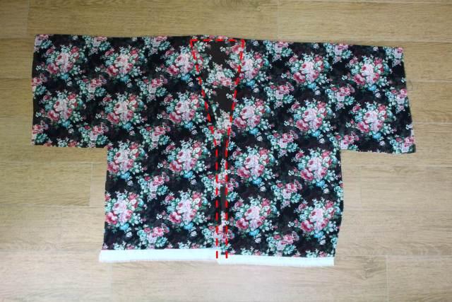 cach may ao kimono