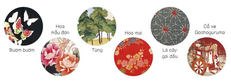 nhuộm và dệt kimono